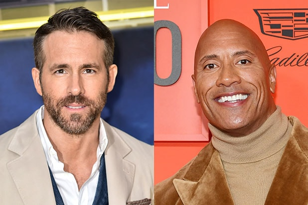 Ryan Reynolds Joins Dwayne Johnson S Red Notice Which