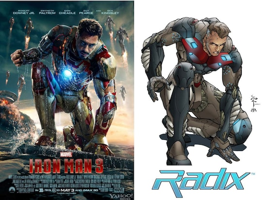 Iron Man 3 Poster Caliban Radix