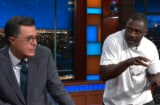 Idris Elba Stephen Colbert Cats