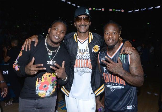 Snoop Dogg Monster Energy $50K Charity Challenge Celebrity Basketball Game