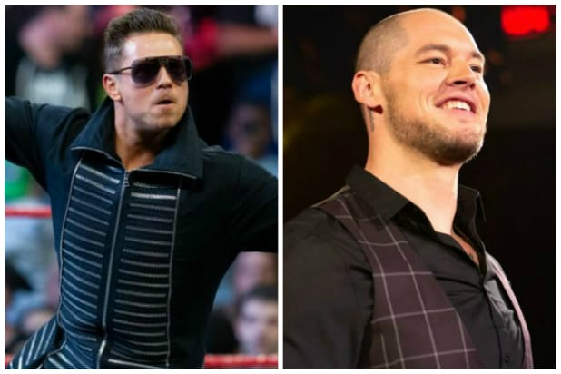 WWE 'Raw' wrestlers The Miz and Baron Corbin