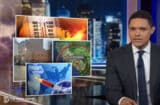 Trevor Noah Flooding Pizza Rat Daily Show