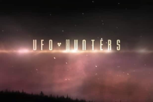 UFO Hunters logo
