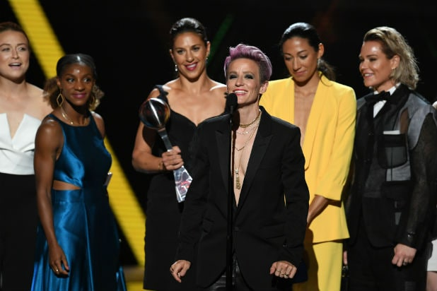 US Womens National Soccer Team ESPYS Awards