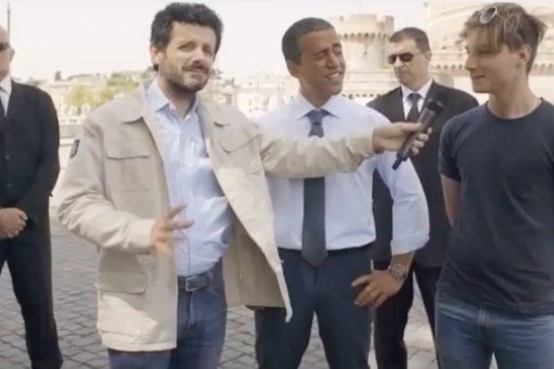 alitalia blackface ad
