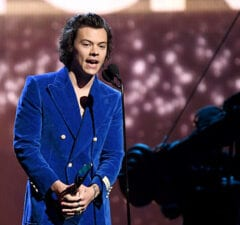 Harry Styles RRHOF Little Mermaid Prince Eric