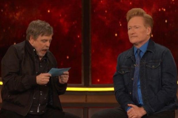 Mark Hamill Puts Conan O'Brien's Comic Book Cred to the Test (Video)