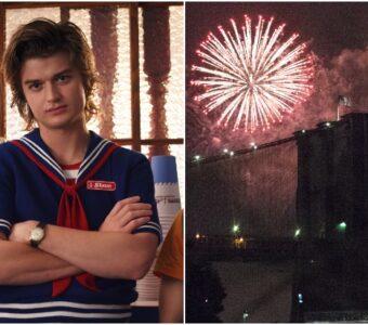stranger things 3/ fireworks