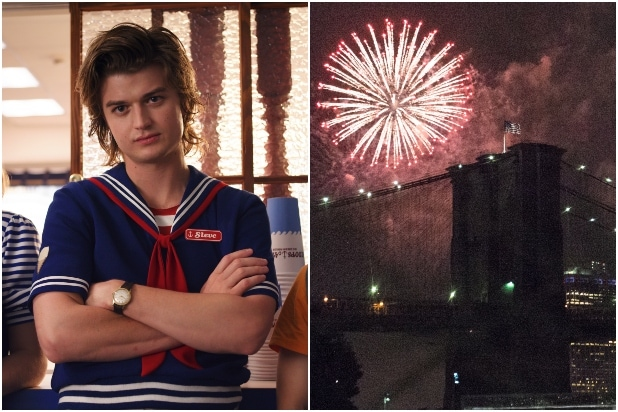 stranger things 3/ fireworks