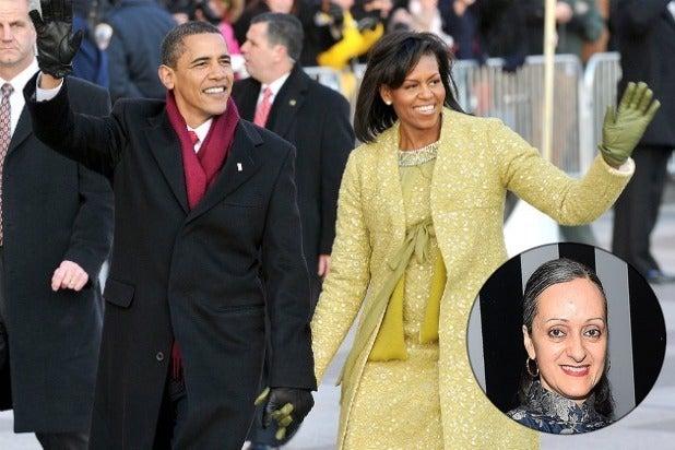 Barack Obama Michelle Obama Isabel Toledo