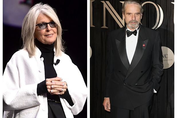 Diane Keaton, Jeremy Irons to Star in Ensemble Comedy 'Love, Weddings & Other Disasters'
