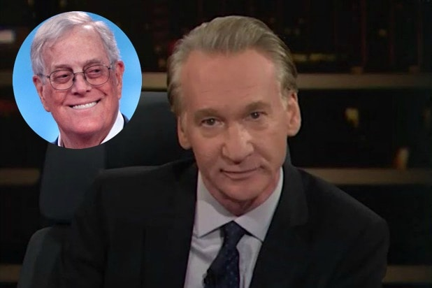 Bill Maher: I'm 'Glad' David Koch Is Dead, 'And I Hope the End Was Painful'
