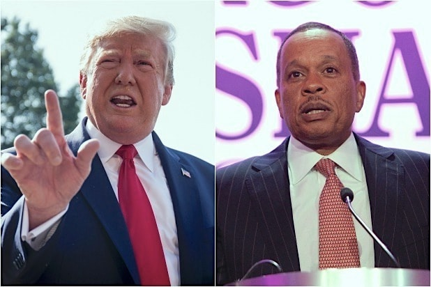 Trump Knocks 'Pathetic' Juan Williams After Criticism on Fox News