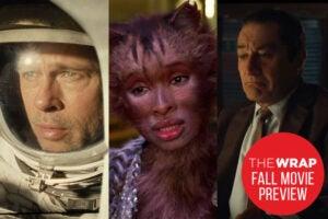 Fall movie gambles cats ad astra irishman