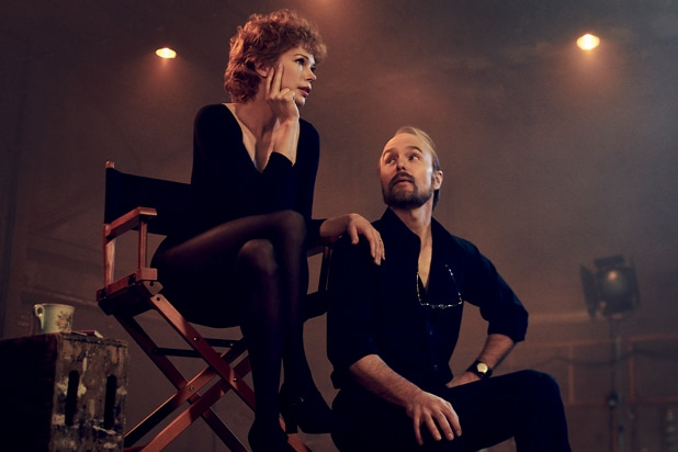Michelle Williams and Sam Rockwell in Fosse/Verdon