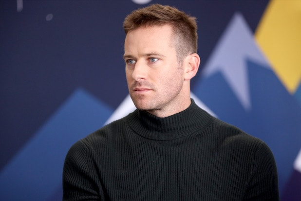 Armie Hammer at the IMDb Studio at the 2019 Sundance Film Festival