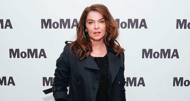 Annabella Sciorra at the MoMA on May 1, 2019