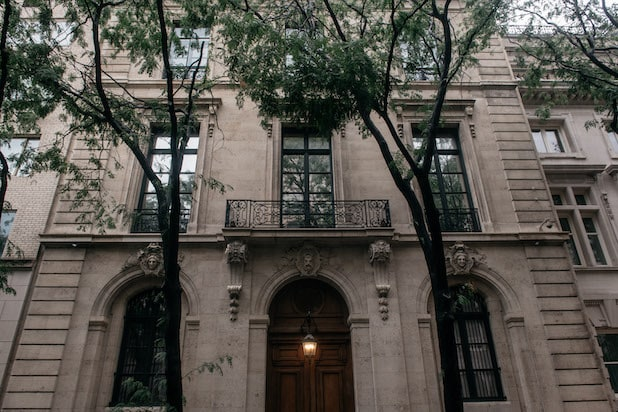 Jeffrey Epstein's residence at 9 East 71st Street in New York City.