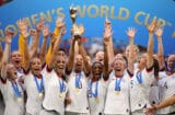 U.S. Women's National Team celebrates World Cup victory