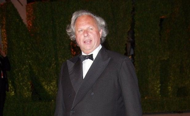 Vanity Fair Editor Graydon Carter in at the 2006 Vanity Fair Oscars Party