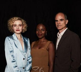 Julia Garner, Marsha Stephanie Blake, and Michael Kelly, Emmy Screening