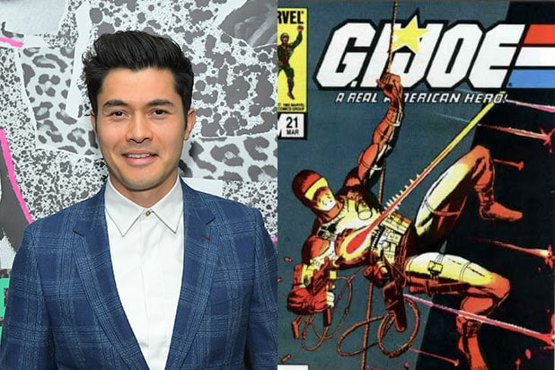 Henry Golding Snake Eyes GI Joe