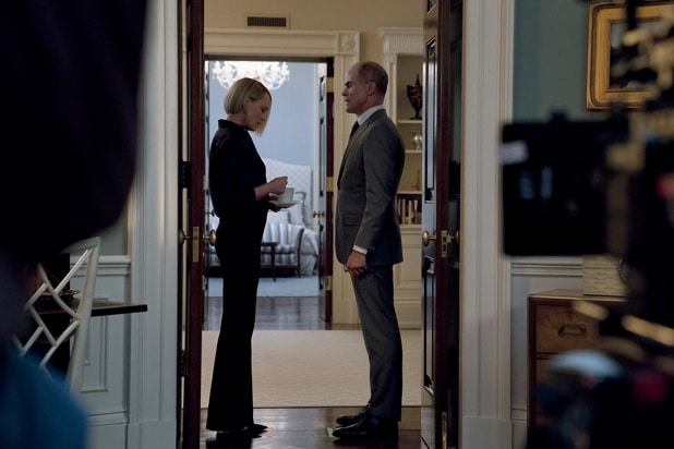 House of Cards Robin Wright Michael Kelly