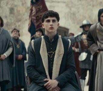 The King Timothee Chalamet