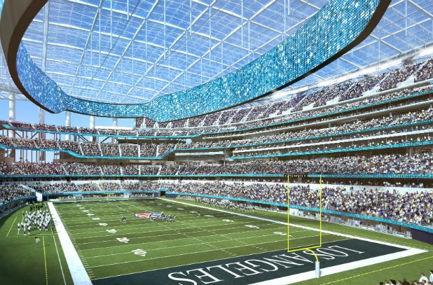 df5b7308 LA Rams and Chargers' New Stadium Is 75% Complete, Names American ...
