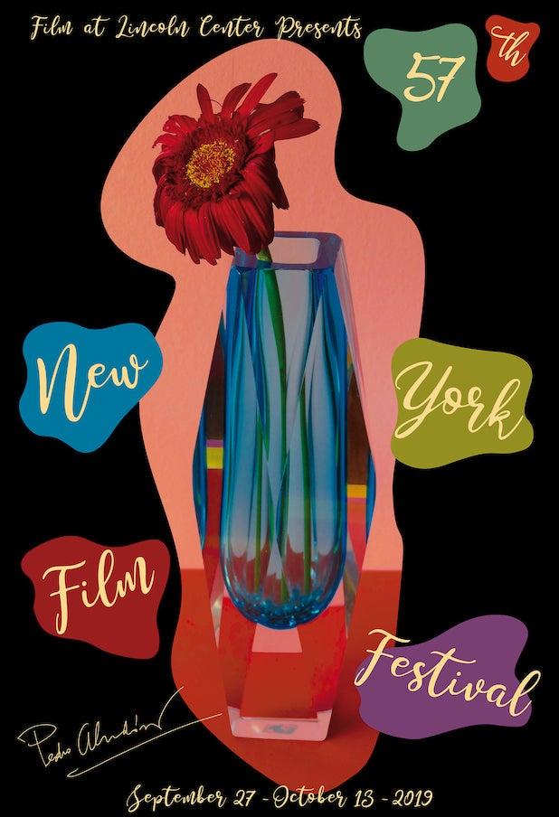 New York Film Festival poster Pedro Almodovar