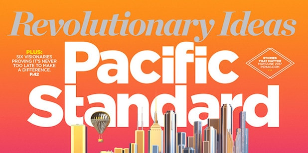 Cover of Pacific Standard magazine