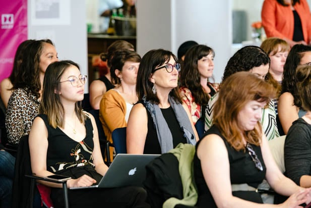 Audience at Power Women SF 2019