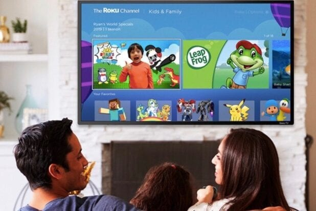 Roku Launches New Kid-Friendly Streaming Destination Within The Roku Channel