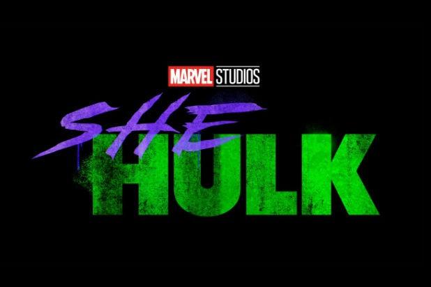 She Hulk Logo Disney Plus Marvel Studios