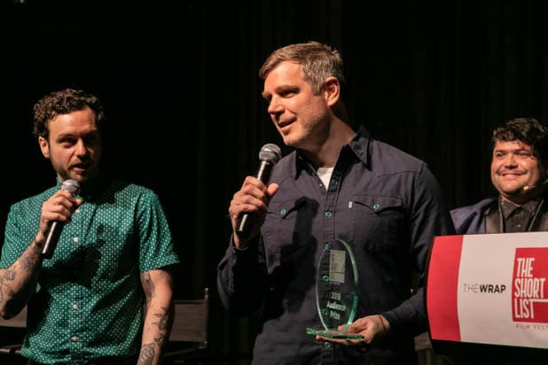 Jonathan Napolitano and Brian Bolster at ShortList 2019