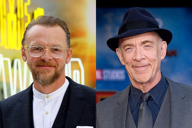 Simon Pegg JK Simmons My Only Sunshine