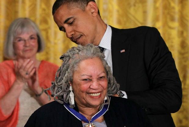Toni Morrison Barack Obama