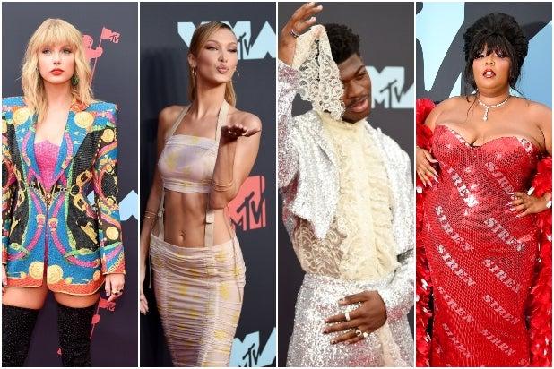 2019 VMAs Red Carpet Split