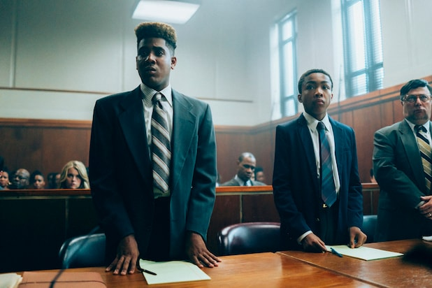 When They See Us Jharrel Jerome Asante Blackk NAACP Image Awards