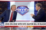 Bill de Blasio on Sean Hannity's Aug. 7 show