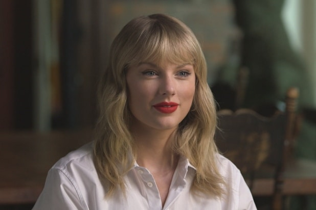 taylor swift cbs this morning
