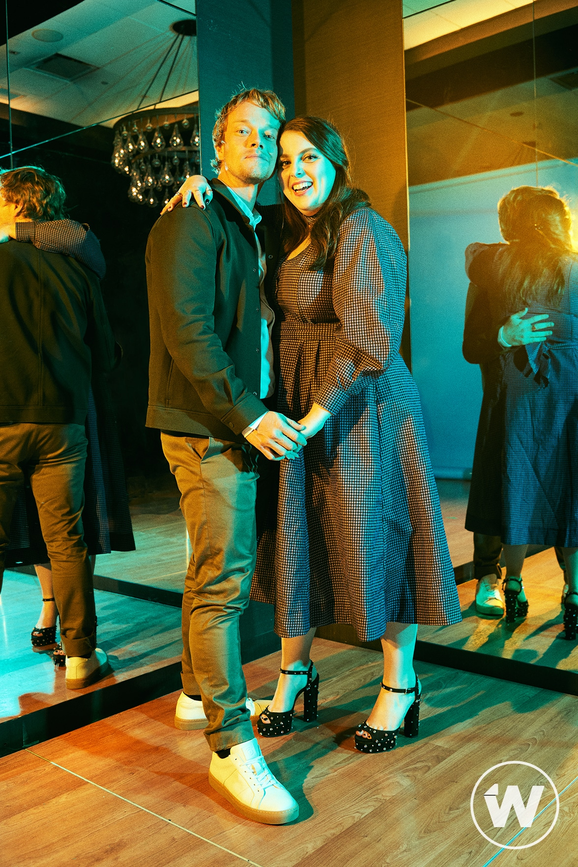Alfie Allen and Beanie Feldstein, How to Build a Girl