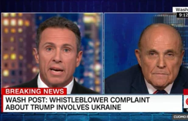 Chris Cuomo Rudy Giuliani CNN Ukraine Trump