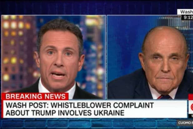Watch Rudy Guiliani Say He Didn't Ask Ukraine to Investigate Joe Biden Then Immediately Contradict Himself (Video)