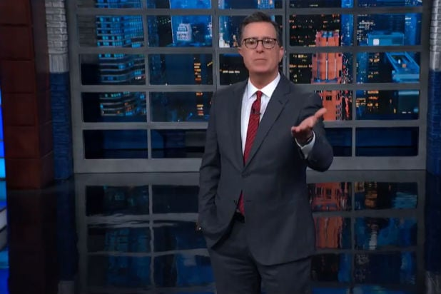 Colbert Trump Impeachment Inquiry