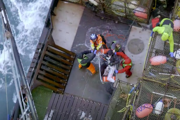 'Deadliest Catch' Season Finale: Wanna See a Really Gruesome Broken Leg? (Exclusive Video)