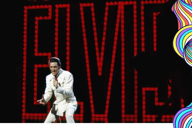 "Elvis Presley in the 1968 ""Comeback"" special"