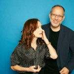 Isabelle Huppert and Ira Sachs, Frankie