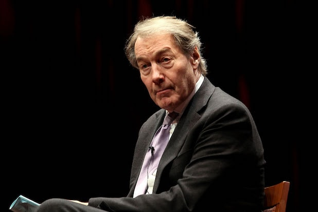 Charlie Rose at the Museum of Jewish Heritage in 2015