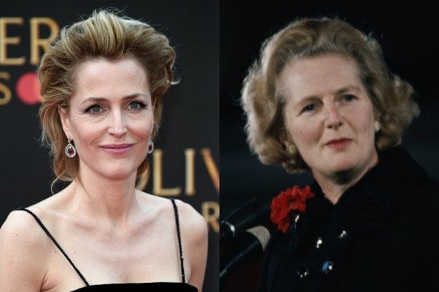 Gillian Anderson Margaret Thatcher The Crown